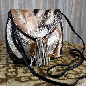 Vintage Nas purse Korean style faux leather